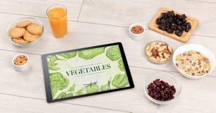 ny tabell för mat royaltyfria bilder