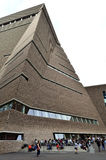 Ny Tate Modern ingång Arkivbilder