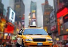 Ny taxi royalty-vrije stock foto