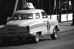 NY-taxi Arkivfoto
