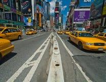 ny taxis Royaltyfri Fotografi