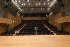 ny teater Arkivbilder
