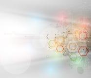 Ny teknikaffärsbakgrund Arkivfoton