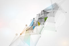 Ny teknikaffärsbakgrund Arkivbild