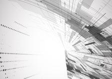 Ny teknikaffärsbakgrund Arkivbilder