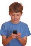 ny telefon för cell Arkivfoton