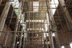 Ny tempelkonstruktion Arkivbild