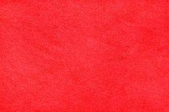 Ny textur för röd matta Royaltyfria Bilder