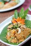 Ny thailändsk mat arkivbild