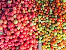 Ny tomat som är till salu på marknaden Royaltyfri Bild