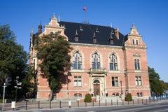 ny town för gdansk korridor royaltyfri fotografi