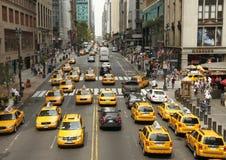 ny trafik york Fotografering för Bildbyråer
