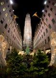 ny tree york för jul Arkivbilder
