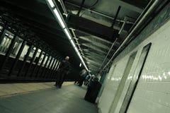 NY Untergrundbahn Stockfotografie