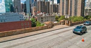 ny väg york för stad Arkivfoto