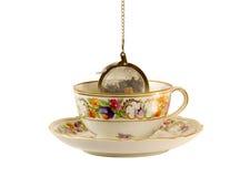 ny växt- varm tea för kopp royaltyfria foton