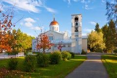 ny valaam för finland kloster Royaltyfria Foton