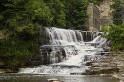 ny vattenfall york för ithaca Royaltyfri Foto