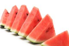 Ny vattenmelon Arkivfoton