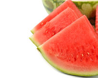 ny vattenmelon Arkivbild