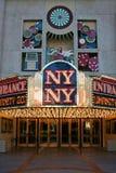 ny Vegas wejściowi kasyn las Fotografia Stock