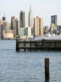 NY View royalty free stock photos