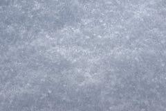 Ny vit snö, makroskott Royaltyfria Bilder