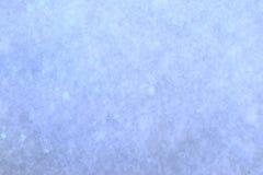 Ny vit snö, makroskott Arkivbild
