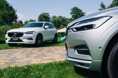 Ny Volvo XC60 bil 2018 fotografering för bildbyråer