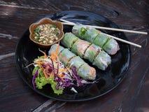 Ny vårrulle, vietnamesisk mat Arkivbilder