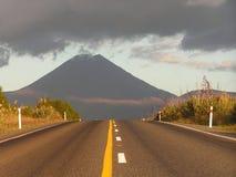 ny vulkan zealand Arkivfoto