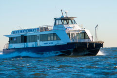 Ny waterway ferry Stock Photos