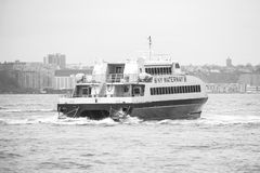 NY Waterway ferry. A river ferry of the NY Waterway in New York Stock Photo