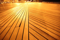 NY, wooden Brighton Beach Stock Photos