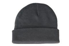 Wełny zimy trykotowy kapelusz Fotografia Royalty Free