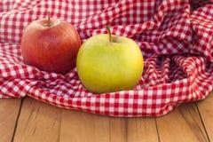 Nya äpplen Royaltyfria Bilder