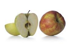 Nya äpplen Arkivbilder