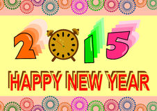 2015 nya år Royaltyfri Foto
