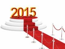 2015 nya år Arkivfoto