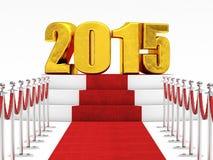 2015 nya år Arkivbilder