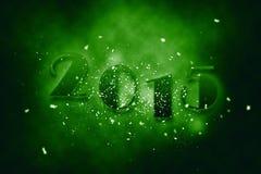 2015 nya år Royaltyfria Bilder