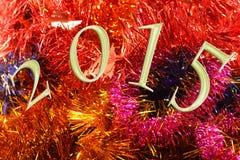 2015 nya år Arkivbild