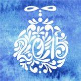 4 nya år Royaltyfri Fotografi