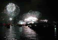 nya år för Australien helgdagsafton Royaltyfria Bilder