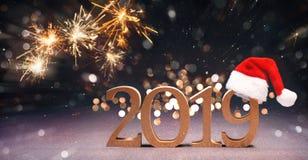 nya år för berömhelgdagsafton royaltyfria bilder