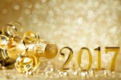 nya år för berömhelgdagsafton Royaltyfri Fotografi