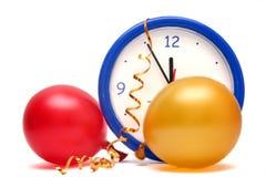 nya år för färgrik helgdagsafton Arkivfoton