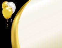 nya år för galainbjudan Royaltyfri Fotografi