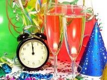 nya år för helgdagsafton Fotografering för Bildbyråer