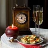 nya år för helgdagsafton Arkivbilder
